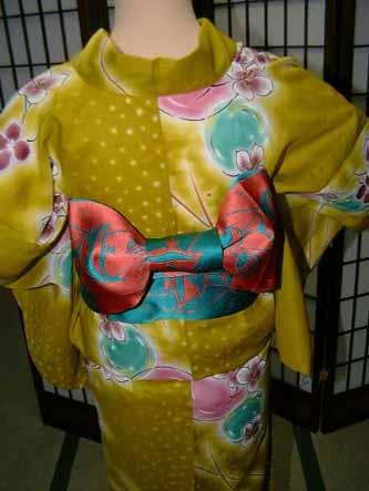 腰带的系法(蝴蝶结) |