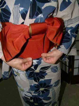 腰带的系法(文库结) |