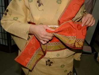 腰带的系法(片流结) |